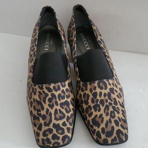 Sesto Meucci Yasemin Leopard-Print Pumps Size 8.5